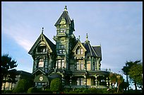 Carson Mansion on M Street, Eureka. California, USA ( color)