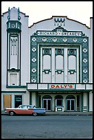 Former Loew State Theatre that became Daleys Department Store, Eureka. California, USA ( color)