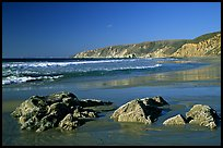 McClures Beach, afternoon. Point Reyes National Seashore, California, USA