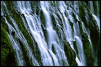 Close-up of Burney Falls, McArthur-Burney Falls Memorial State Park. California, USA ( color)