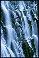 Close-up of Burney Falls, McArthur-Burney Falls Memorial State Park. California, USA (color)