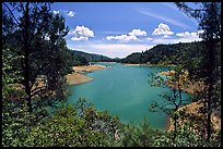 Shasta Lake, Wiskeytown-Shasta-Trinity National Recreation Area. California, USA ( color)
