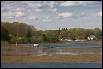 Oyster River estuary, Old Saybrook. Connecticut, USA (color)