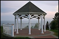Gazebo, Westbrook. Connecticut, USA (color)