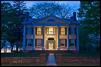 Florence Griswold House at dusk, Old Lyme. Connecticut, USA ( color)