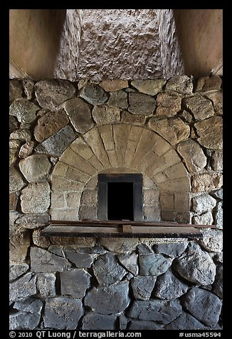 Finery forge hearth, Saugus Iron Works National Historic Site. Massachussets, USA (color)
