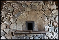 Hearth in forge, Saugus Iron Works National Historic Site. Massachussets, USA (color)