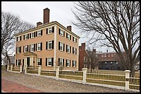 Hawkes House, Salem Maritime National Historic Site. Salem, Massachussets, USA ( color)