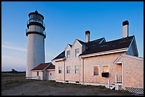 Highland Light (Cape Cod Light), Cape Cod National Seashore. Cape Cod, Massachussets, USA (color)