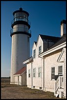 Highland Light, early morning, Cape Cod National Seashore. Cape Cod, Massachussets, USA (color)