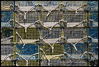 Lobster traps, Truro. Cape Cod, Massachussets, USA (color)