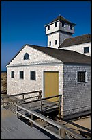 Old Harbor life-saving station, Cape Cod National Seashore. Cape Cod, Massachussets, USA (color)