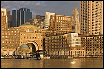 Rowes Wharf. Boston, Massachussets, USA ( color)