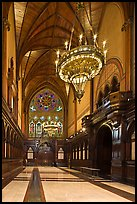 Inside Memorial Hall, Harvard University, Cambridge. Boston, Massachussets, USA ( color)
