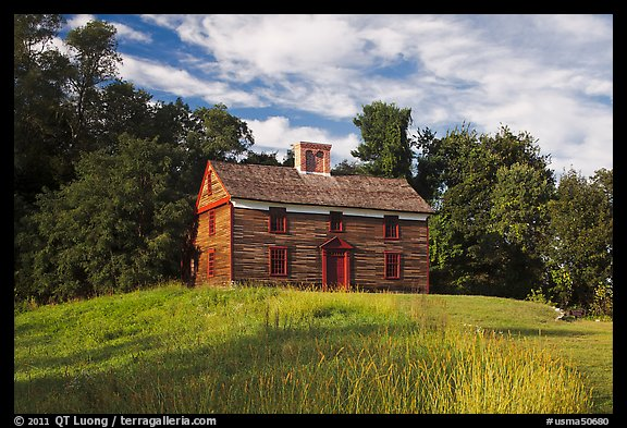 Captain William Smith house, Minute Man National Historical Park. Massachussets, USA