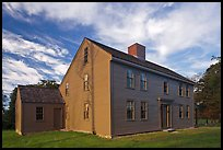 Historic Samuel Brooks House, Minute Man National Historical Park. Massachussets, USA (color)