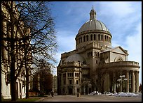 First Church of Christ, Scientist (mother building). Boston, Massachussets, USA ( color)
