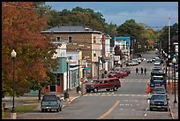 Main street, Millinocket. Maine, USA ( color)