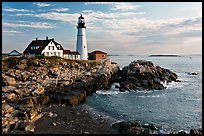 Portland Head Light Station. Portland, Maine, USA (color)