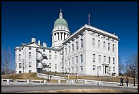 Maine State Capitol. Augusta, Maine, USA (color)
