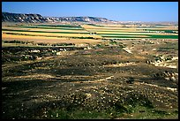 Plains seen from Scotts Bluff. Scotts Bluff National Monument. South Dakota, USA (color)