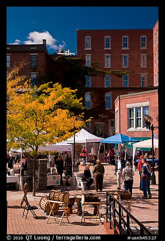 Plazza. Concord, New Hampshire, USA (color)