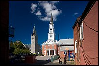 Churches. Concord, New Hampshire, USA ( color)