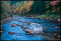 Stream in autumn, White Mountain National Forest. New Hampshire, USA