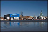 Portsmouth Naval Shipyard. Portsmouth, New Hampshire, USA ( color)