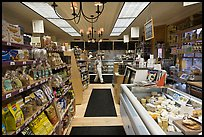 Grocery store interior. Walpole, New Hampshire, USA ( color)