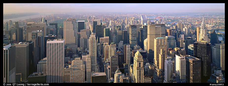 New York cityscape. NYC, New York, USA (color)