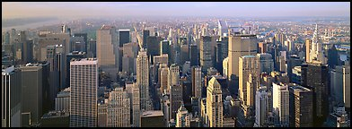 New York cityscape. NYC, New York, USA (Panoramic color)