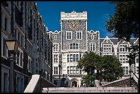 City College, CUNY. NYC, New York, USA (color)