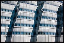 Facade detail, IAC building. NYC, New York, USA (color)