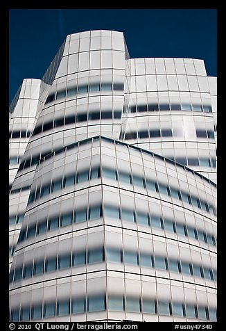 Frank Gehry designed IAC building. NYC, New York, USA (color)