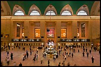 Grand Central Station interior. NYC, New York, USA