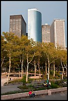 Battery Park, Lower Manhattan. NYC, New York, USA ( color)