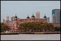 Ellis Island. NYC, New York, USA (color)
