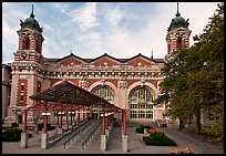 Immigration Museum, Ellis Island, Statue of Liberty National Monument. NYC, New York, USA ( color)