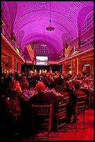 NPCA gala inside Immigration Museum, Ellis Island. NYC, New York, USA ( color)