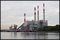 Power Station, Queens. NYC, New York, USA (color)