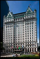 Plaza Hotel. NYC, New York, USA ( color)
