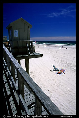 Atlantic beach, Long Beach. Long Island, New York, USA