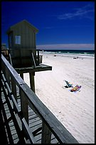 Atlantic beach, Long Beach. Long Island, New York, USA (color)