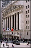 New York Stock Exchange. NYC, New York, USA ( color)