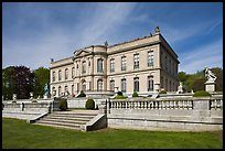 The Elms, mansion in classical revival style. Newport, Rhode Island, USA