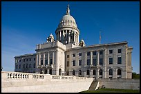 North Facade of Rhode	Island capitol. Providence, Rhode Island, USA (color)