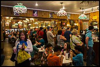 Restaurant in Wall Drug, Wall. South Dakota, USA (color)