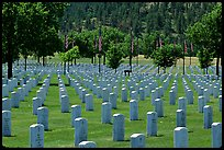 Black Hills National Cemetery. South Dakota, USA