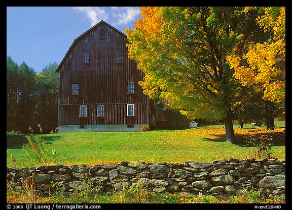 Lee Farm on Ridge Road. USA (color)